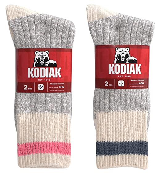 99b518181fc Kodiak Women s 4 Pairs of Soft Cotton Traditional Work