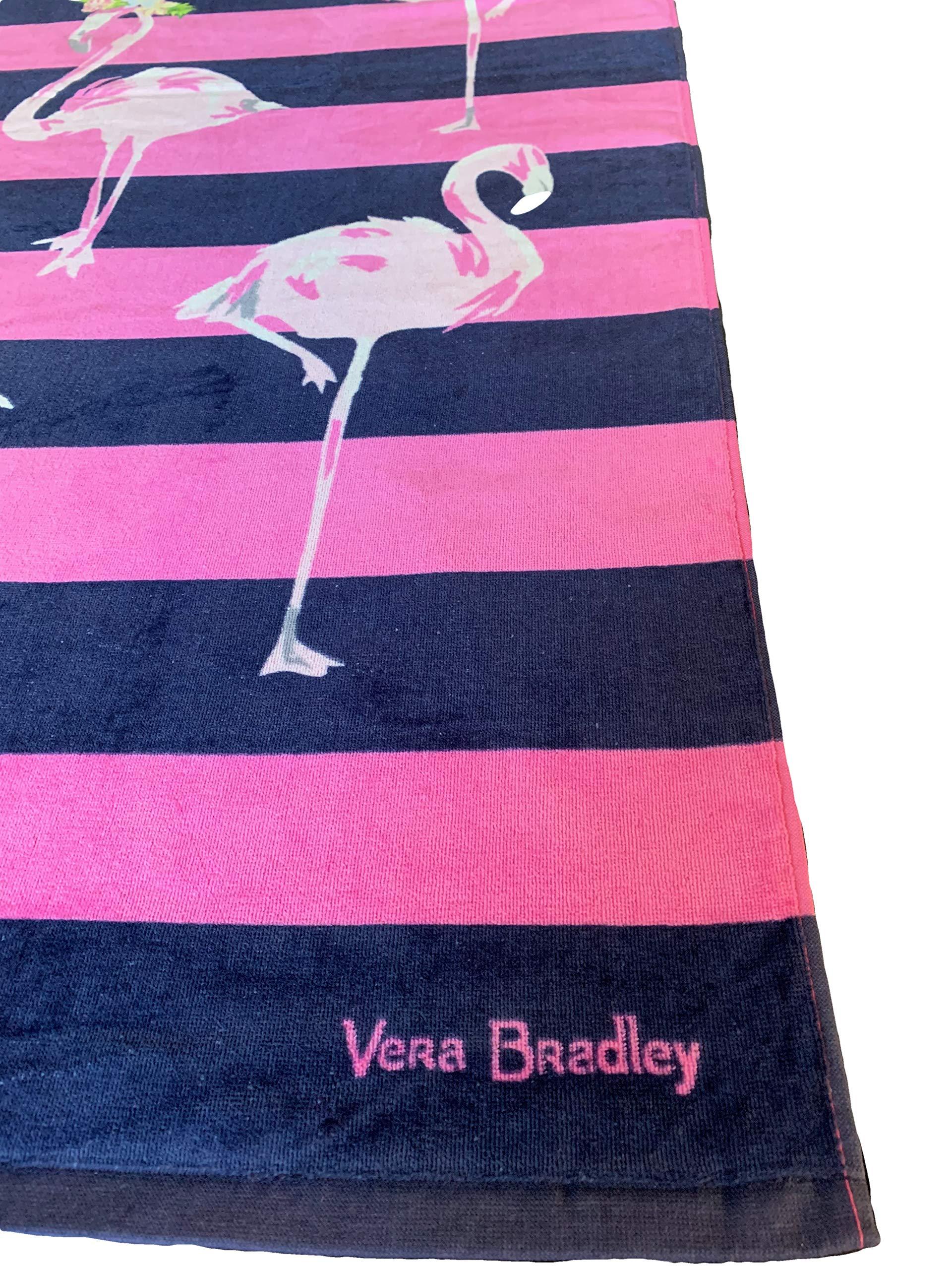 Vera Bradley Flamingo Fiesta Beach Towel 33'' x 66'' by Vera Bradley (Image #2)