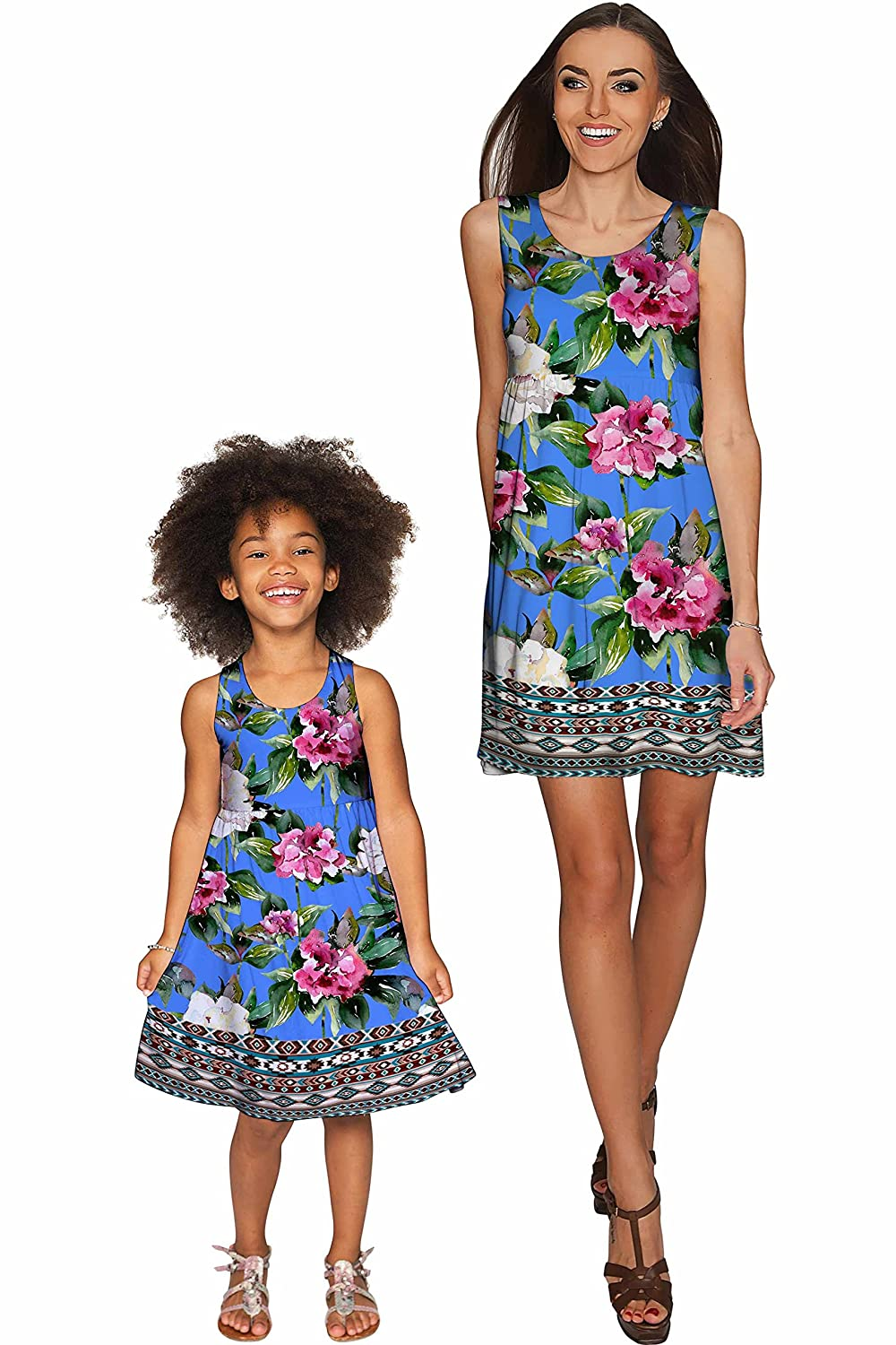 5657fafa9b0 Amazon.com: PineappleClothing Mommy and Me Matching Family Outfits - Mother  Daughter Dresses: Clothing