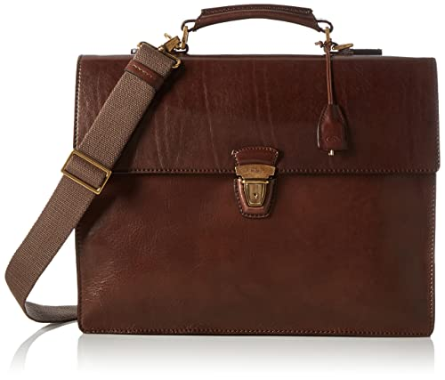 b6781a3932 The Bridge Herren 06468501 Borsa a Mano, 40 x 30 x 15 cm, Marrone ...