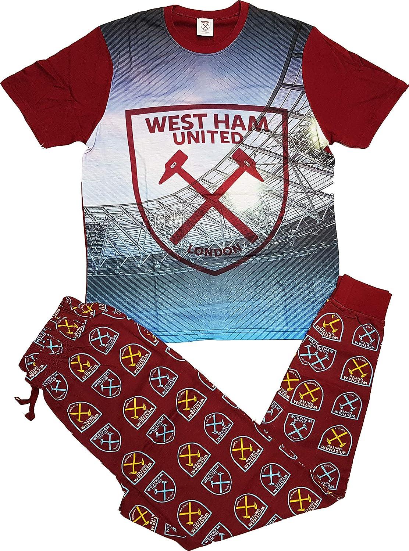 New official West ham United short pyjamas