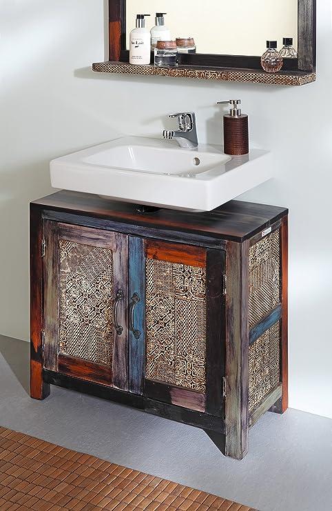 GOA 3549 Bad Waschbeckenunterschrank, Holz, 31 x 67 x 60 cm, bunt