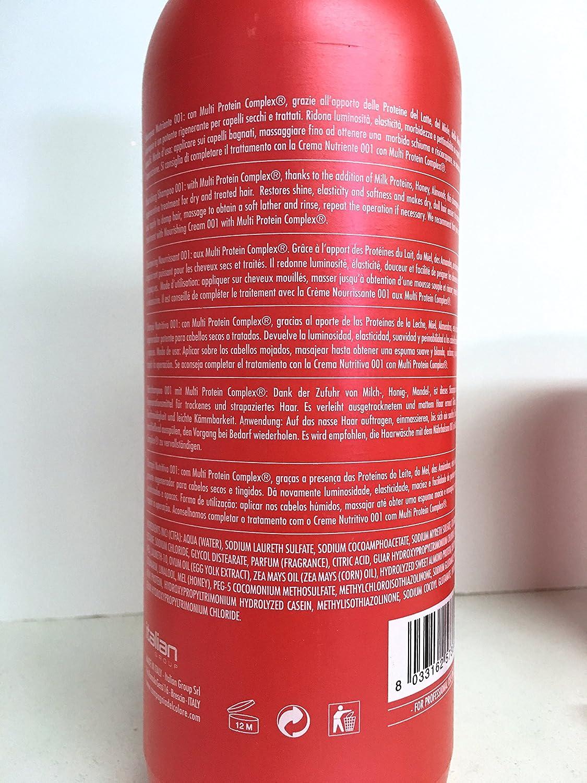 Amazon.com : Compagnia Del Colore 001 Nourishing Shampoo with Multi Protein Complex 33.8 Oz, 001 Nourishing Cream 33.8 Oz and 013 Crystal Fluids 3.38 OzFree ...