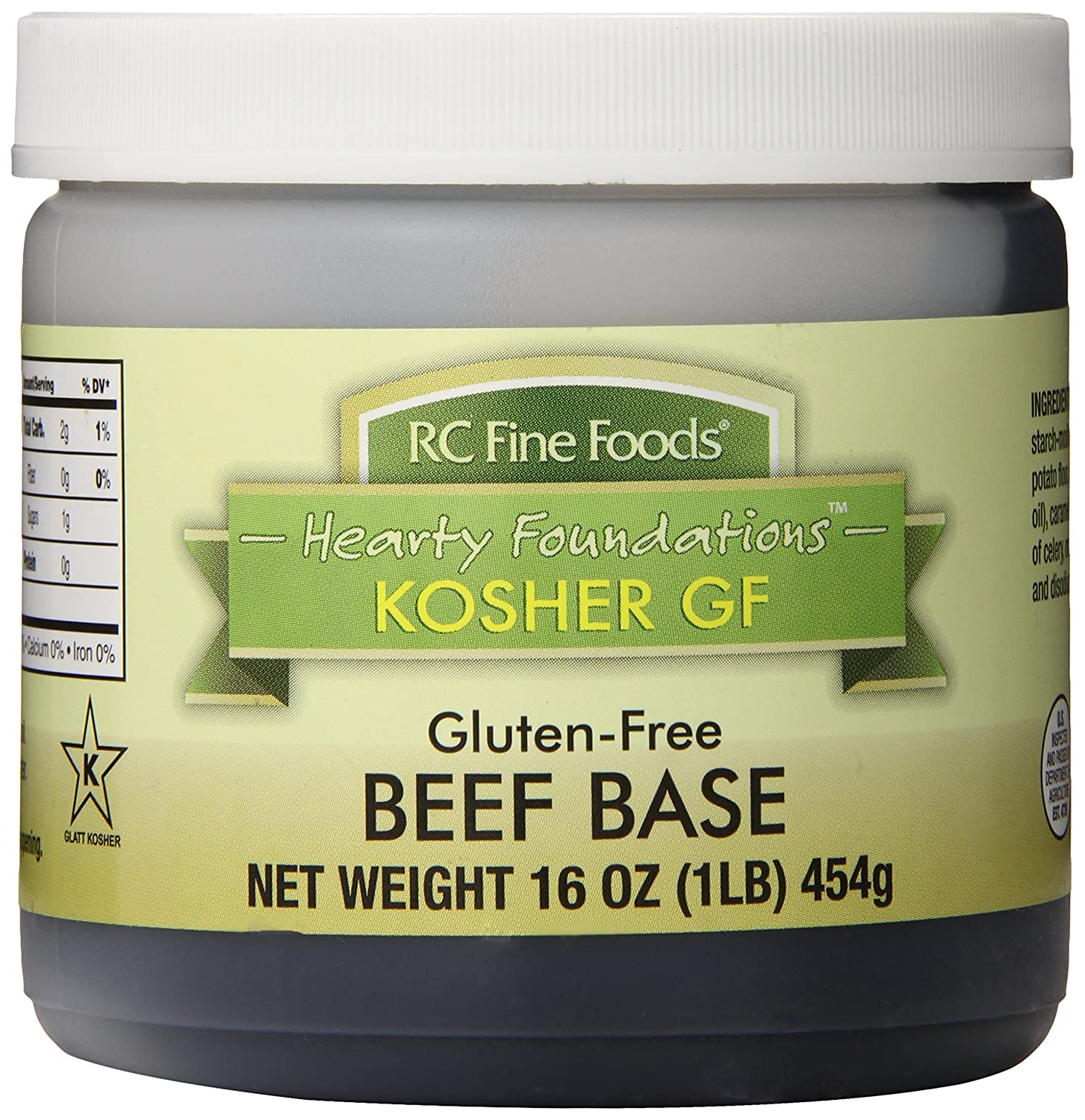 RC Fine Foods Healthy Foundations Kosher Gluten-Free Base, Beef, 1 Pound