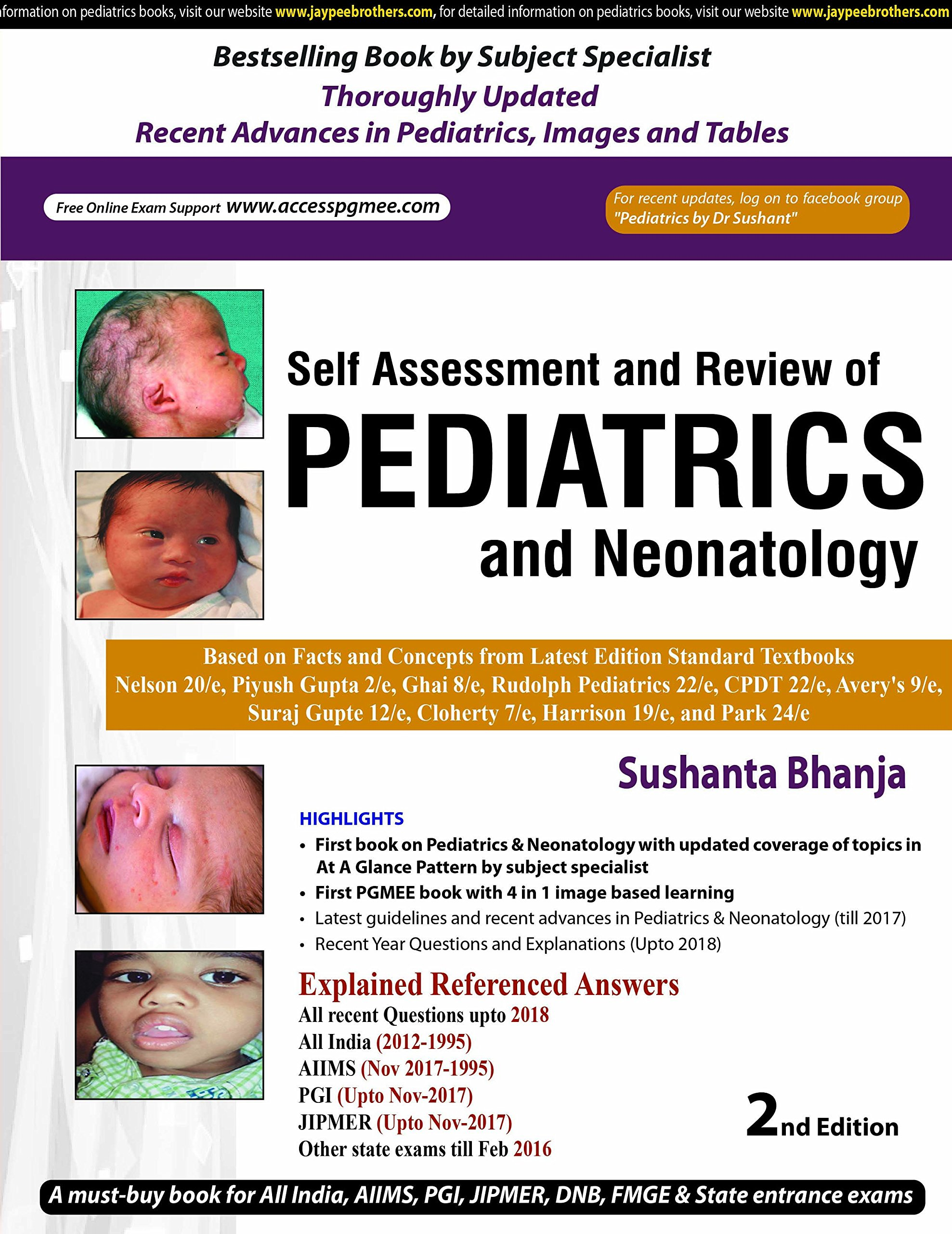 Buy Self-Assessment and Review of Pediatrics and Neonatology