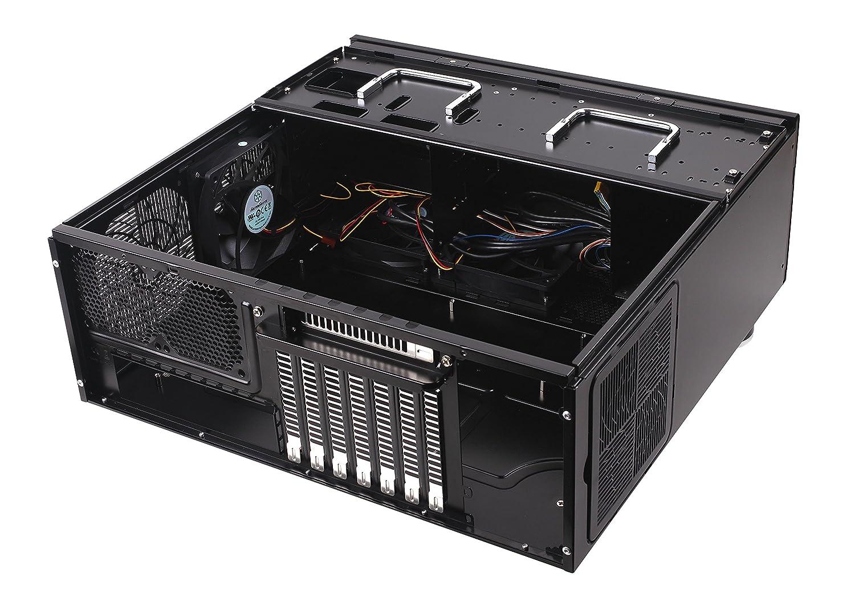 schwarz Grandia HTPC ATX Desktop Geh/äuse mit hochleistungsf/ähigem und ger/äuscharmen K/ühlsystem SilverStone SST-GD09B