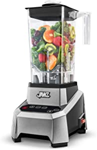JAWZ 83516 Precision Touch High Performance Blender, 64oz, Silver