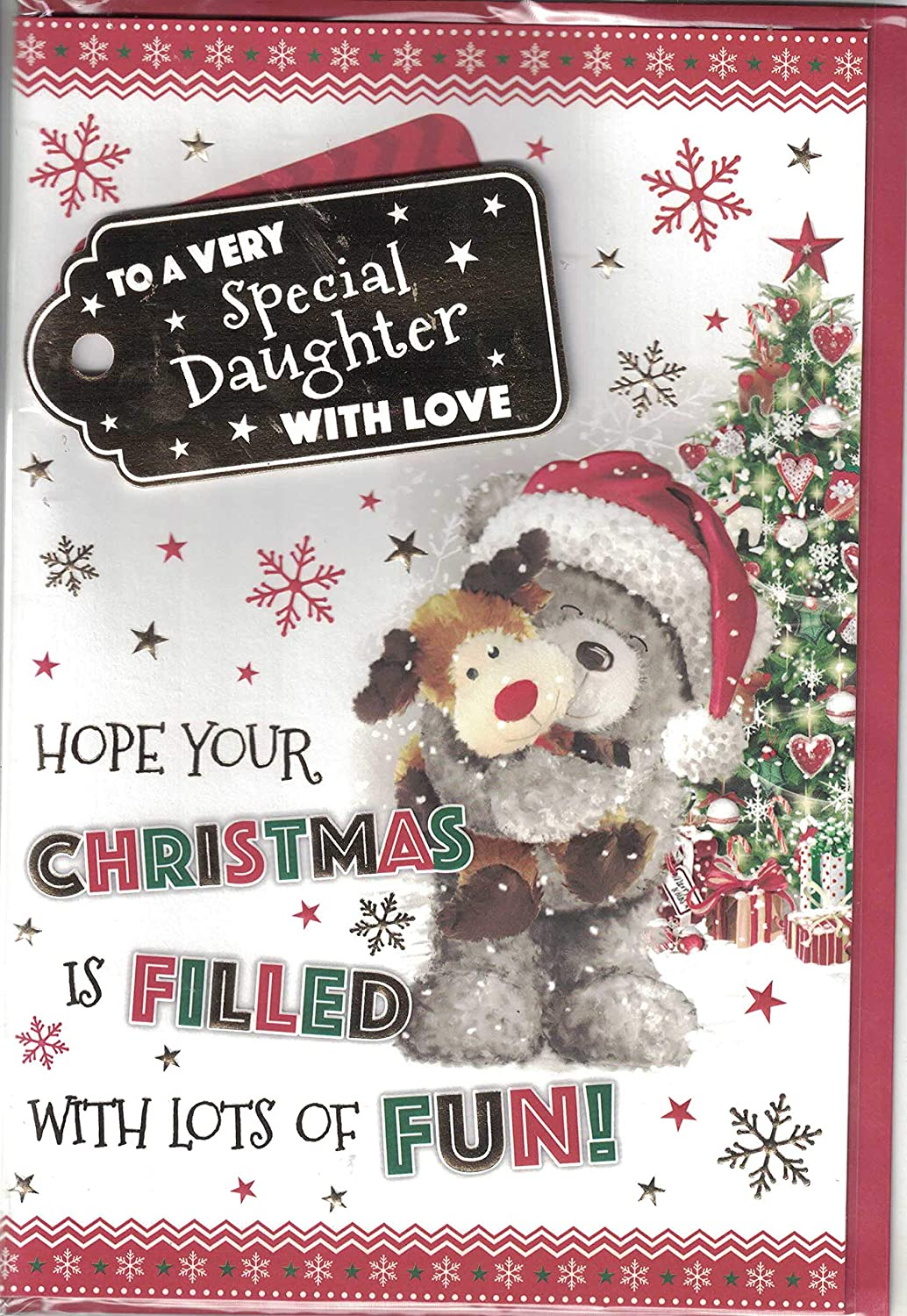 Daughter Christmas Card