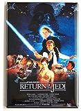 Return of the Jedi Movie Poster Fridge Magnet (2 x 3 inches)