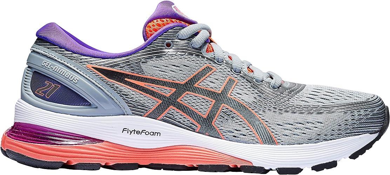 ASICS Gel-Nimbus 21 Womens Zapatillas para Correr - AW19-39: Amazon.es: Zapatos y complementos