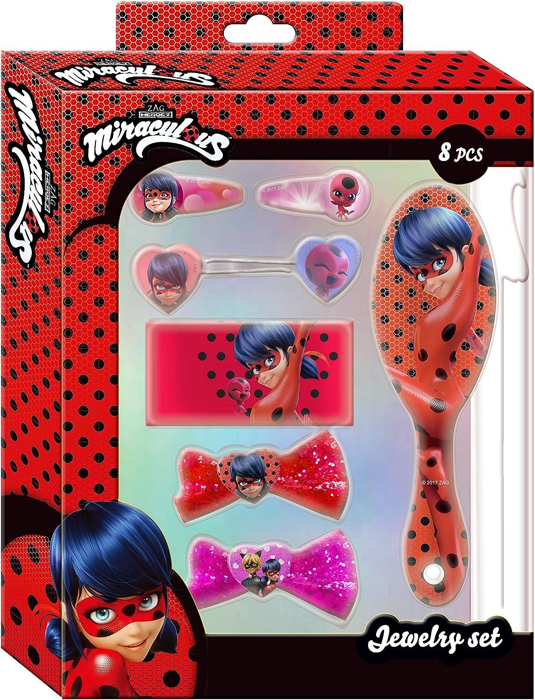 Desconocido Kids- Set Accesorios de Pelo Ladybug, 25 x 20 cm ...