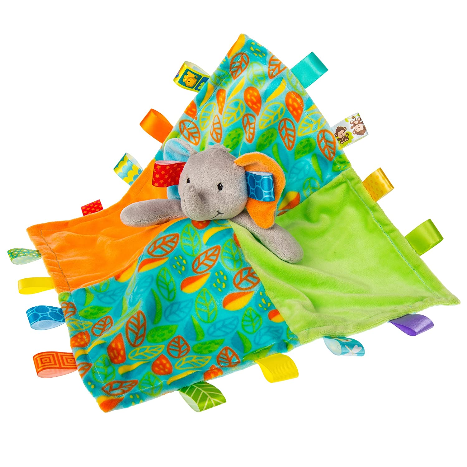 Taggies Little Leaf Elephant Character Blanket