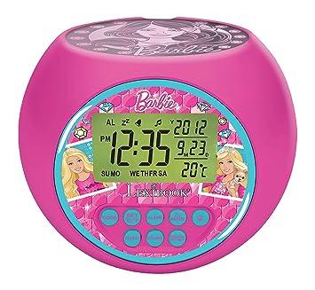Amazon.es: Barbie - Barbie, Reloj Despertador Proyector, Rosa ...