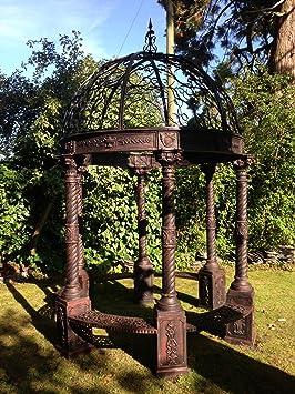 Danum Furniture Estilo Victoriano Hierro Fundido Gazebo cm, Ancho ...