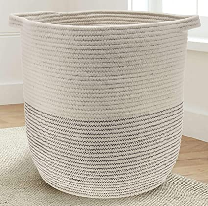 Exceptionnel Extra Large Woven Storage Baskets | 18u0026quot; X 16u0026quot; Decorative Blanket  Basket, Use
