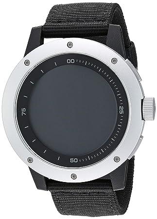 MATRIX Industries - Smartwatch (Resistente al Agua 50 m, Funciona con Calor Corporal), no necesita recargar, con PowerWatch App - Color Negro