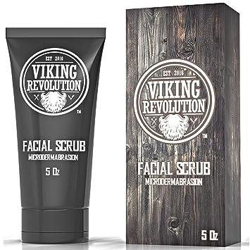 Amazon Com Viking Revolution Microdermabrasion Face Scrub For Men