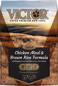 Victor Select - Chicken Meal & Brown Rice Formula, Dry Dog Food