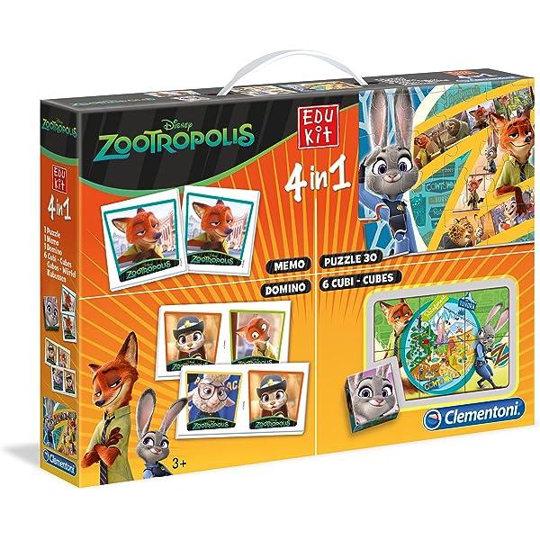 Clementoni Disney - Juego Educativo Zootropolis 13391.8: Amazon.es ...
