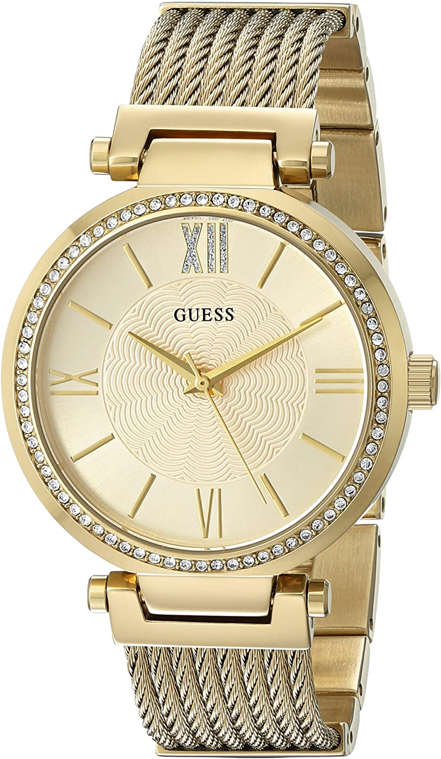 GUESS Women s Stainless Steel Casual Watch