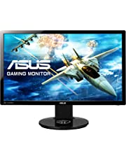 ASUS VG248QE 24 Inch FHD (1920 x 1080) Gaming Monitor, 1 ms, Up to 144 Hz, DP, HDMI, DVI-D