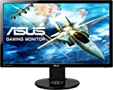 ASUS VG248QE 24 inch Widescreen LED Multimedia 3D Monitor (1920 x 1080, 80000000:1, 144 Hz, 1 ms, DVI Display Port, HDMI) - Black