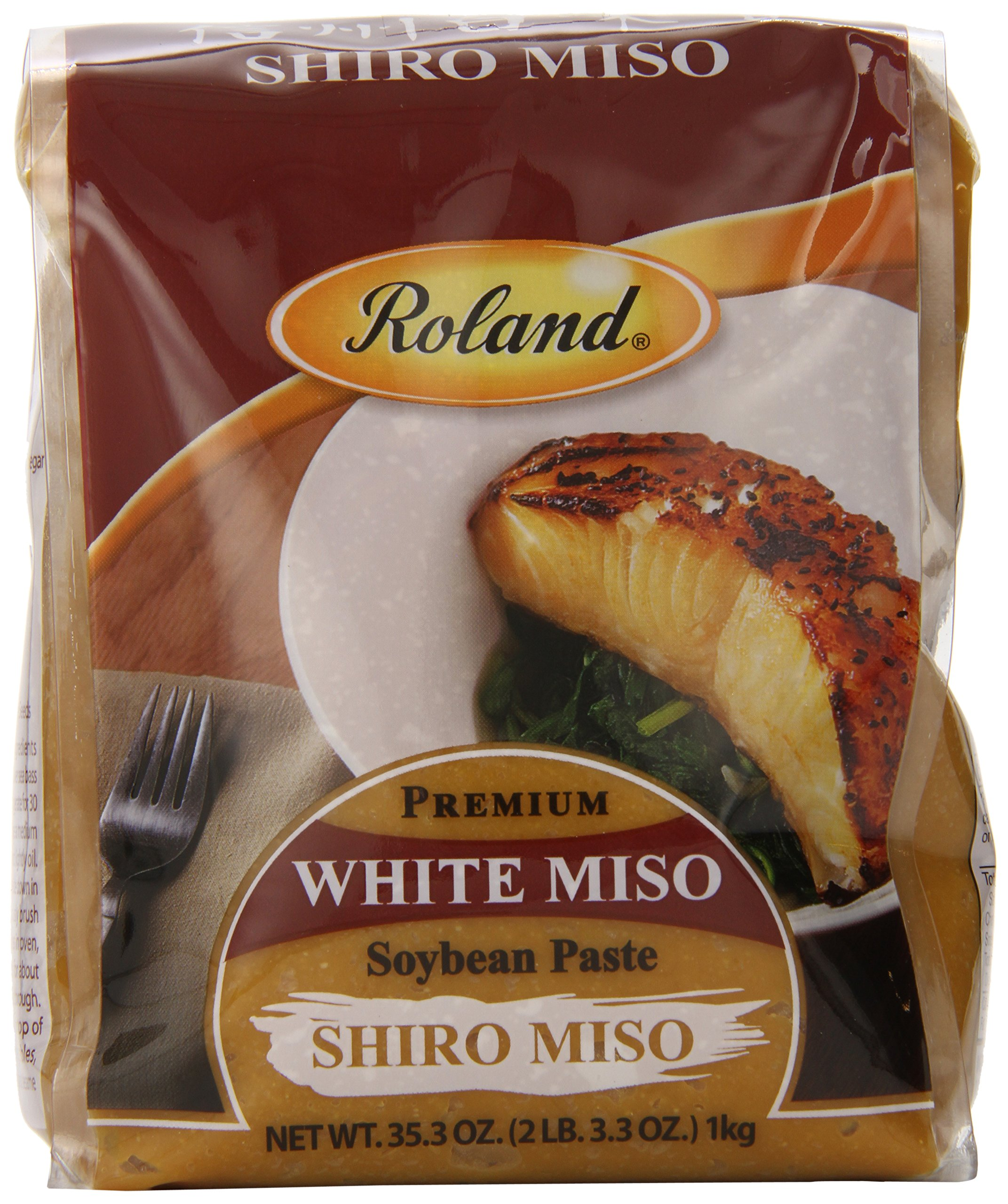 Roland White Miso Paste, 35.3 Ounce (Pack of 2)