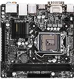 Asrock H81M-ITX Mainboard Sockel LGA 1150 (Mini-ITX, Intel H81, 2x DDR3 Speicher, RJ-45, 2x SATA III, 2x USB 3.0)