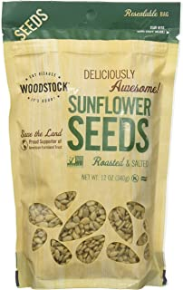 product image for Woodstock Farms Sunflower Seeds, Roasted & Salted, 12 oz