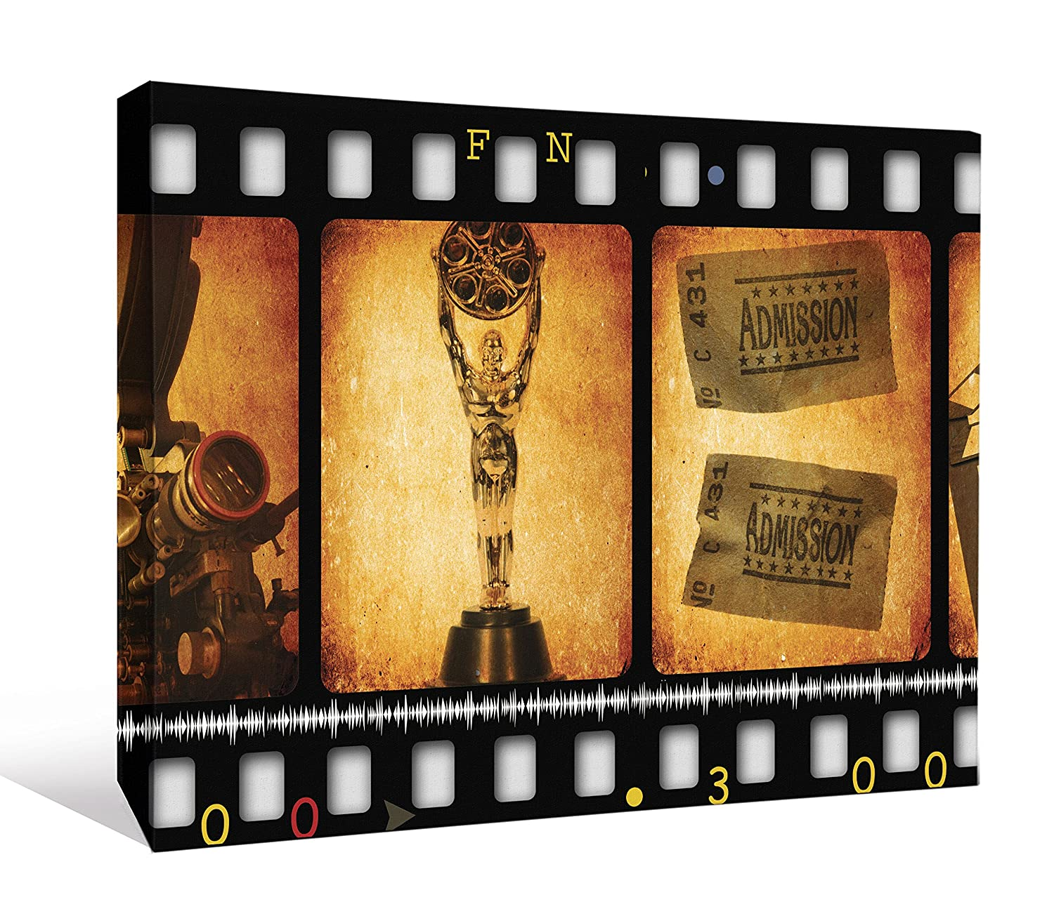 Amazing Movie Reels Wall Decor Ensign - The Wall Art Decorations ...