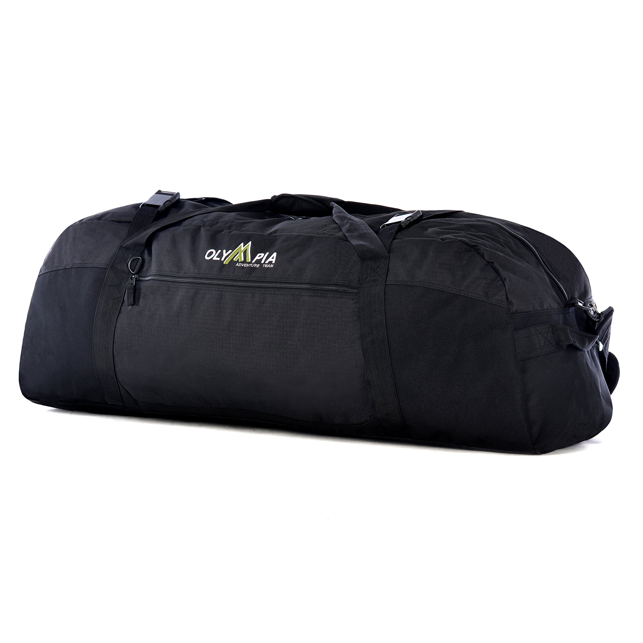 Olympia Luggage 36 Inch Sports Duffel,Black,One Size