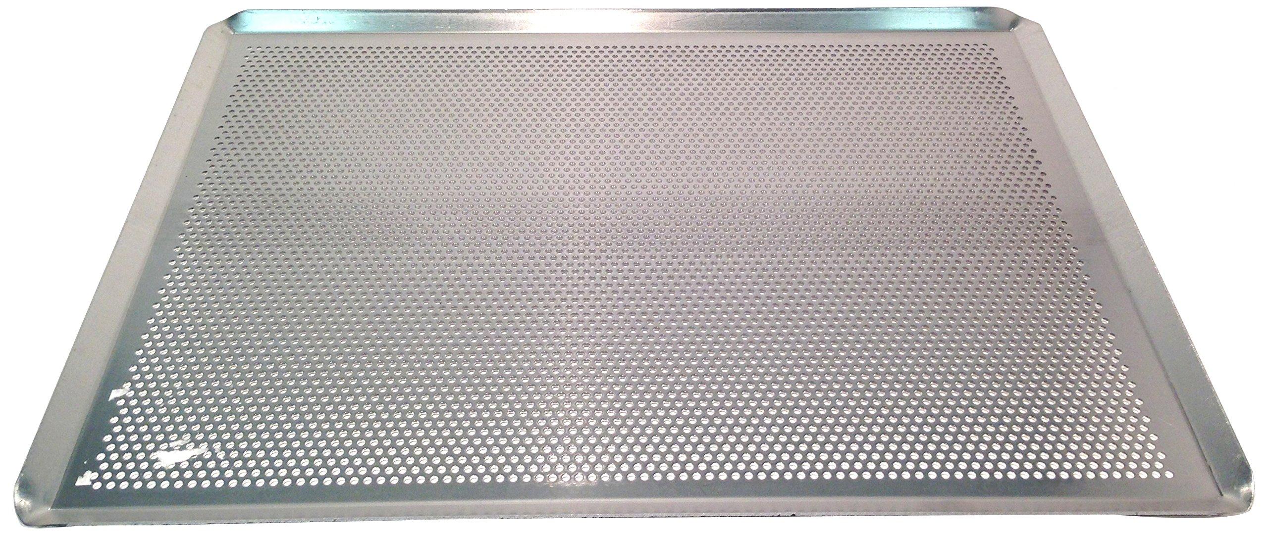 Sasa Demarle HG330460 Aluminum Perforated Sheet Pan, 18'' Length, 13'' Width, 1'' Height by Sasa Demarle (Image #2)
