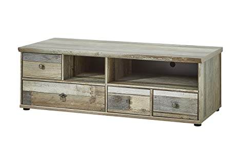 Stella Trading - Mobile TV in Legno Driftwood: Amazon.it: Casa e cucina