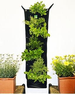 Delectable Garden 7 Pocket Waterproof INDOOR Vertical Planter