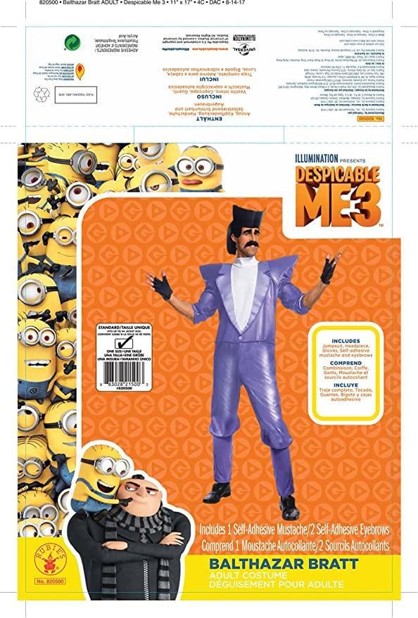 Amazon.com: Rubie s Costume Co. De los hombres Despicable ...