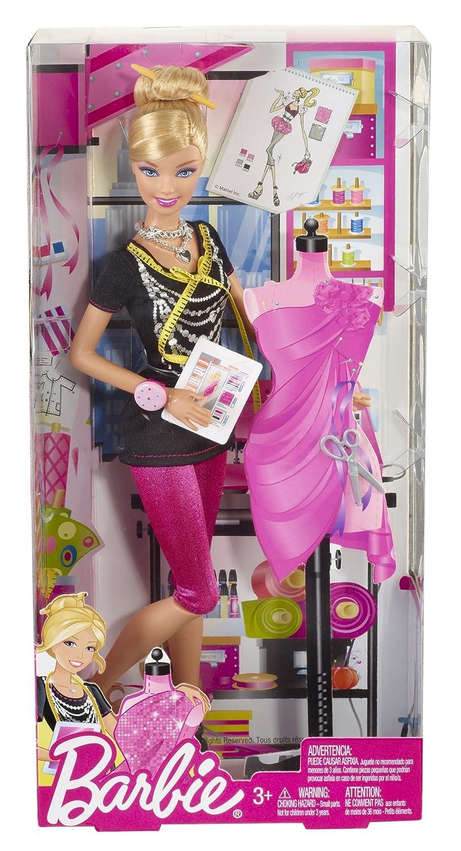 Barbie - Quiero ser diseñadora de Moda (Mattel X2887)