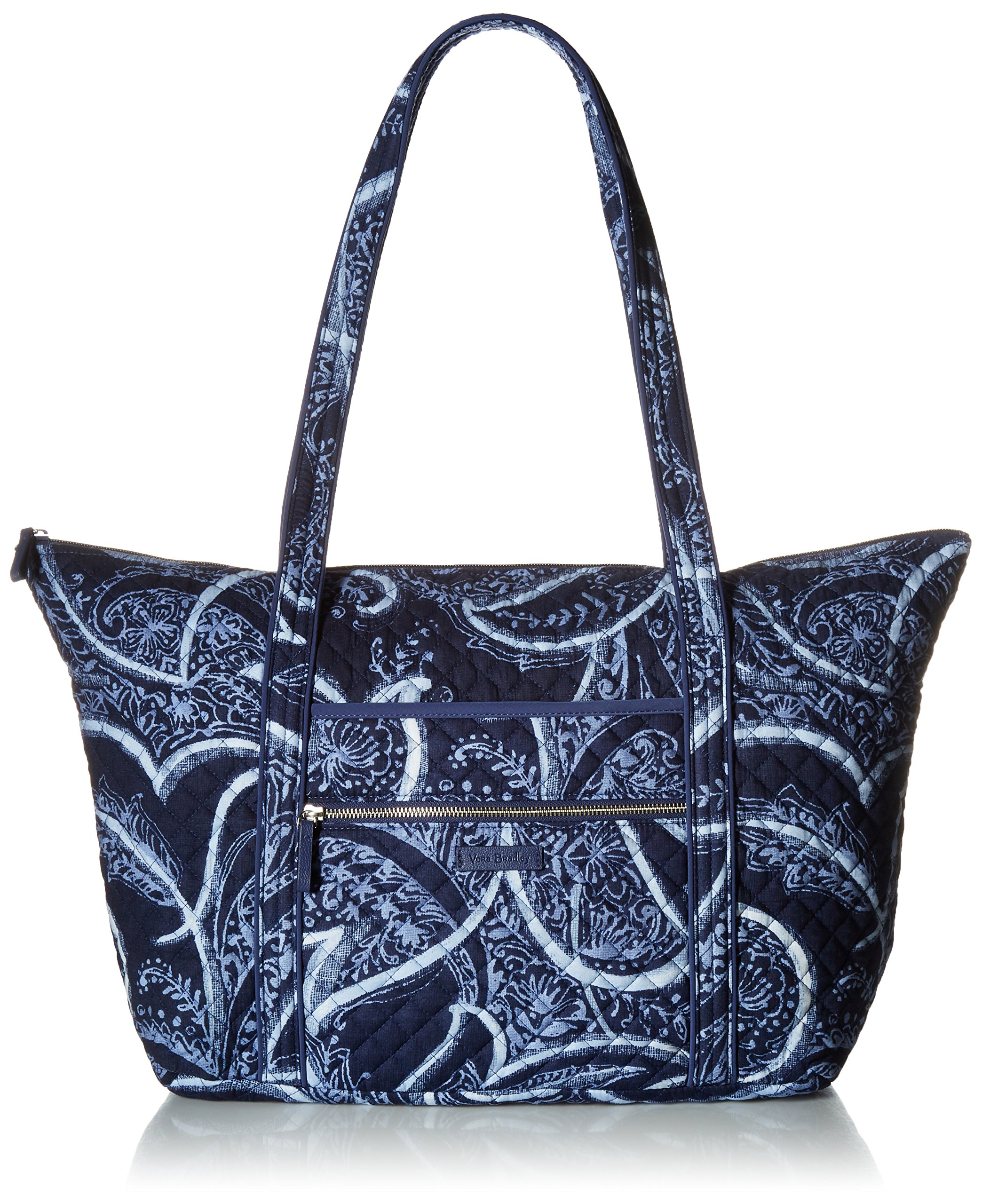 Vera Bradley Iconic Miller Travel Bag, Signature Cotton, Indio, One Size