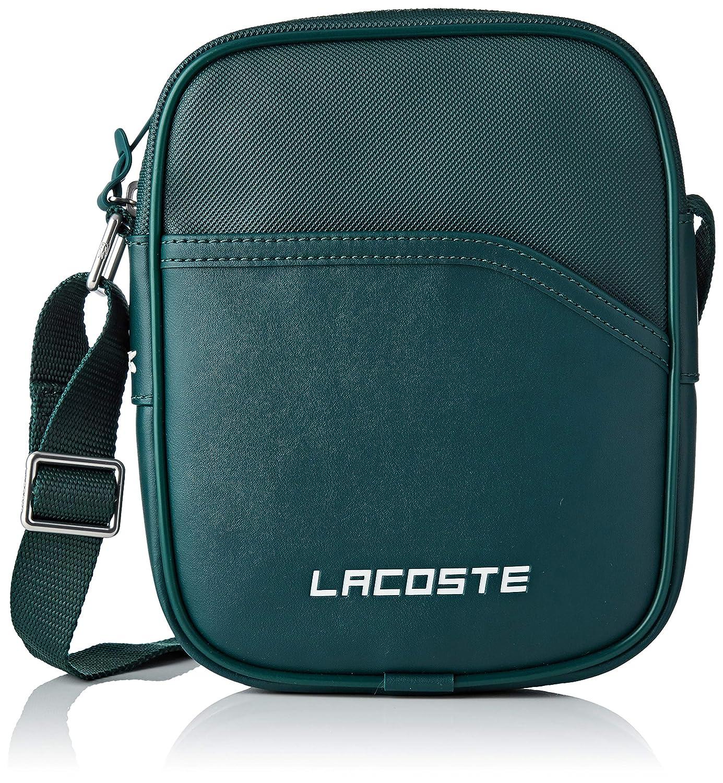 2981424ef4 Lacoste - NH2349UT - Sac porte epaule - Homme - Vert - 5x21x17 cm:  Amazon.fr: Chaussures et Sacs