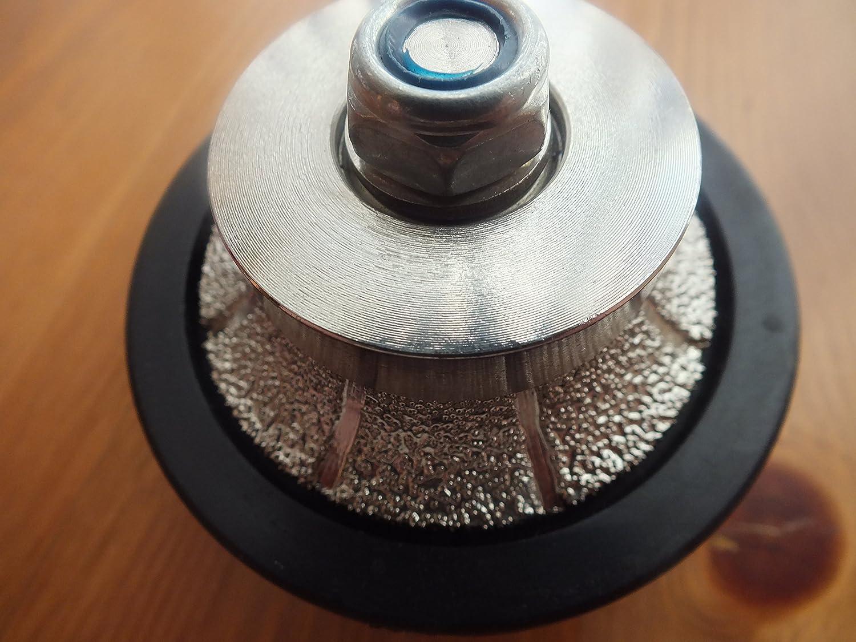 """11 Thread 5//8/"""" Vacuum Brazed Hand Profiler 3//8/"""" Radius"""