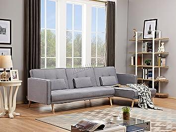 Divano Reclinabile 4 Posti : Westwood l shape tessuto divano letto reclinabile divano ad angolo