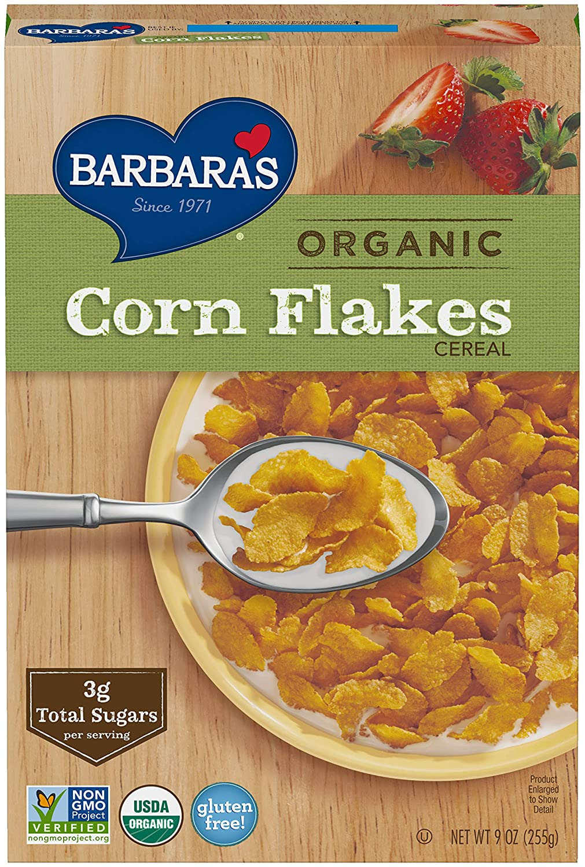 Amazon Com Barbara S Bakery Organic Classic Corn Flakes