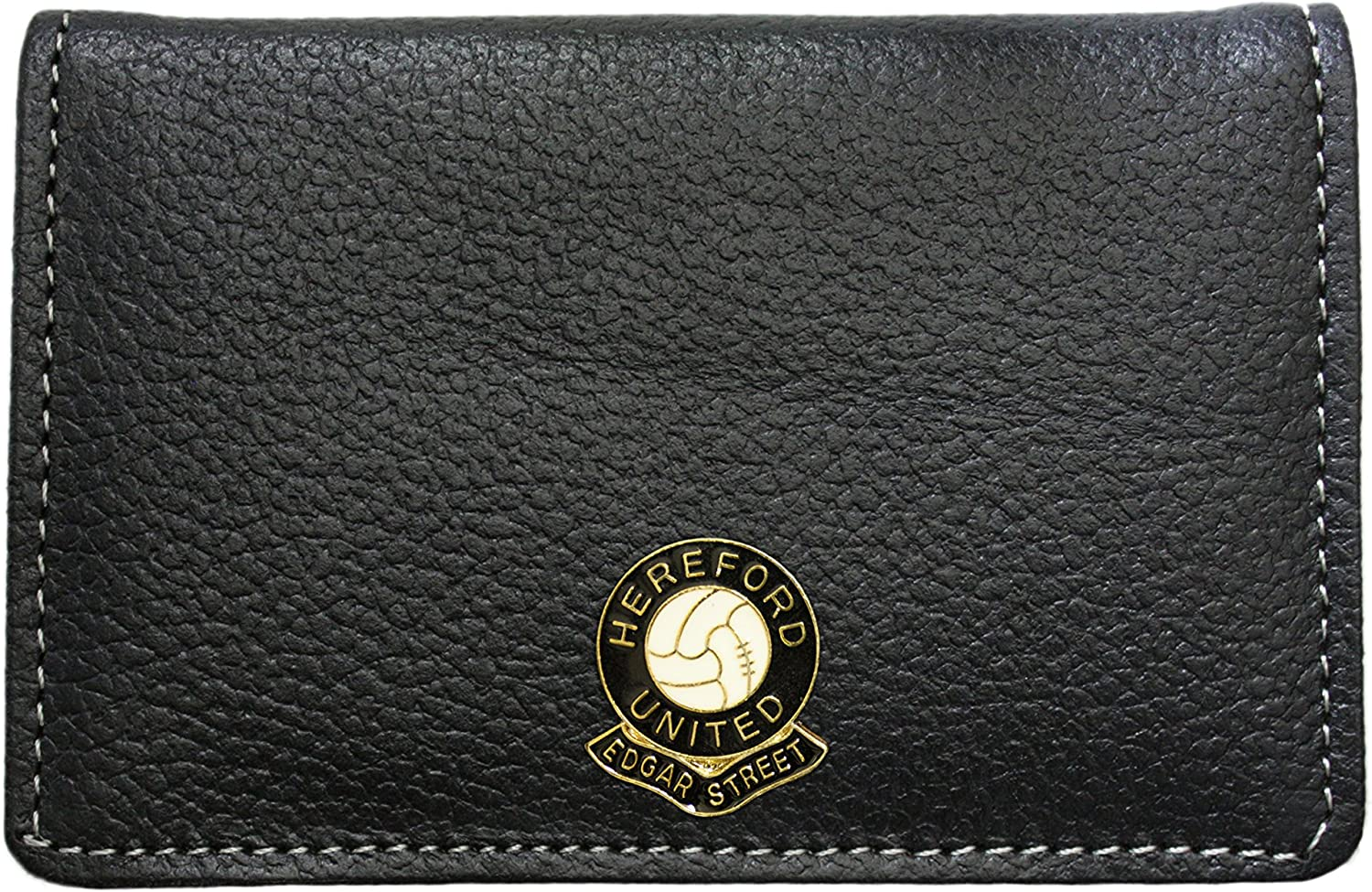 Hereford United football club leather card holder wallet