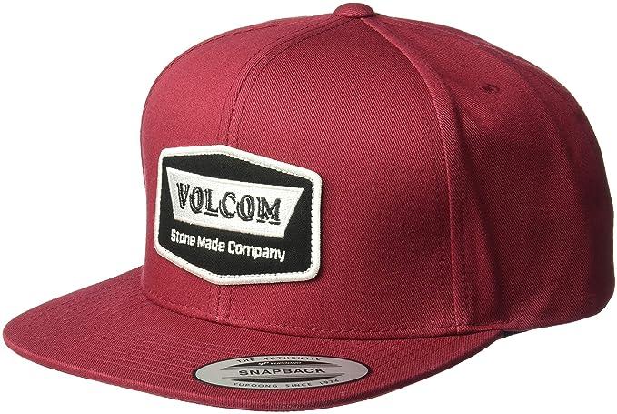 78255b91d3b Amazon.com  Volcom Men s Cresticle Snapback Hat Burgundy  Clothing