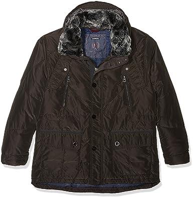 info for 6af40 43754 LERROS Große Größen Men's Herren Parka Jacket, Black ...