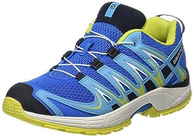 22224e9f1ba Salomon Enfant XA Pro 3D Chaussures de Course à Pied et Trail Running -  Bleu