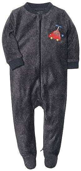 a360409a3 Amazon.com: Cute Baby Girls Boys Cotton Sleepsuit Onesies Zipper ...