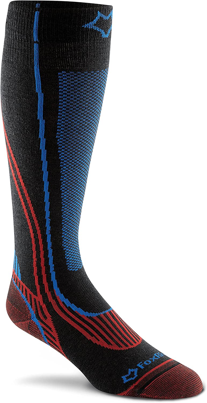 FoxRiver unisex Aprapahoe Lightweight Over-the-calf Ski Socks