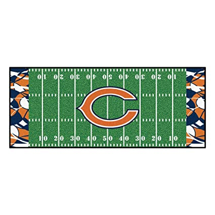 image regarding Chicago Bears Schedule Printable identified as : NFL Chicago Bears Soccer Market Runner Mat House