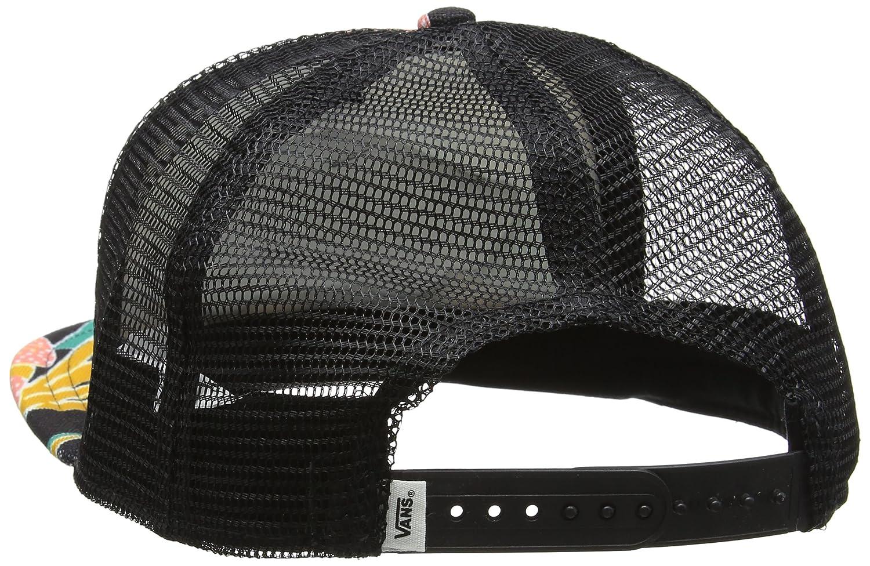 70b57e90d5af6 Vans Beach Girl Trucker Hat Black Tropical OSFA at Amazon Women's Clothing  store: