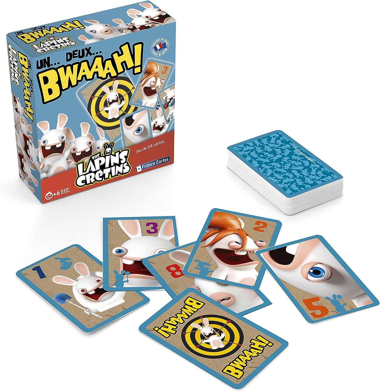 France Cartes 410495 - Juego de Mesa, diseño de Conejos Rabbids: Amazon.es: Juguetes y juegos